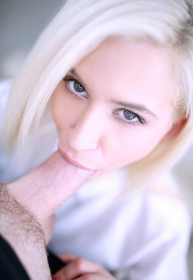 Шикарный минет и секс крупным планом с Kiara Cole
