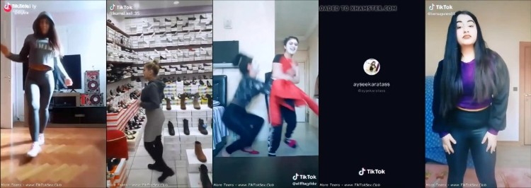 0639 TTnN Young Tiktok Girl Tights Dance Currents 2 - Young Tiktok Girl Tights Dance Currents 2 / by TubeTikTok.Live