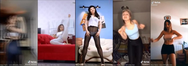 0643 TTnN Young Tiktok Girl Tights Dance Currents 42 - Young Tiktok Girl Tights Dance Currents 42 / by TubeTikTok.Live