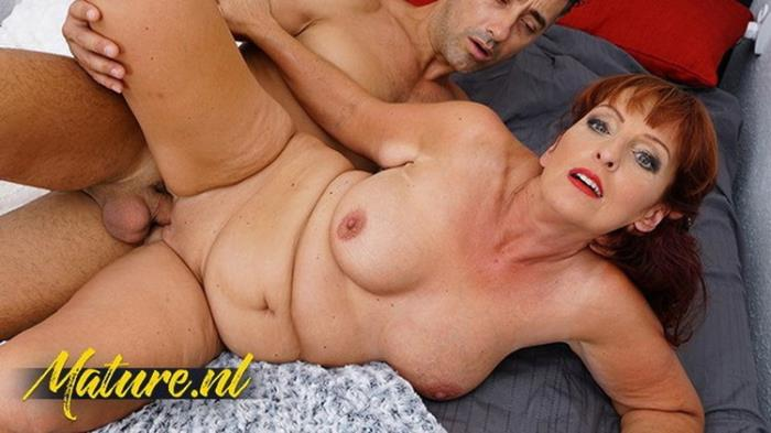 MatureNL.com: Redhead MILF Gets Her Mouth Filled With Cum Starring: UnknowN