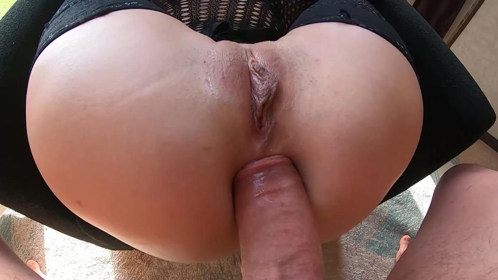 LegalPorno - Cherry Aleksa Studio - Hot Wife in Stockings Deepthroat Big Cock and had Anal Sex until Facial Cumshot CAS025
