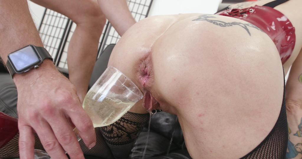 LegalPorno - Giorgio Grandi - Adeline Lafouine is Unbreakable bday party Wet #1, Anal Fisting, DAP, Monster ButtRose, Pee Drink, Creampie Swallow GIO1906