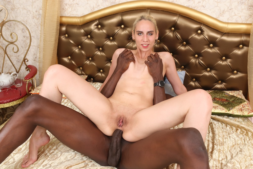 LegalPorno - Faplex Studio - Aura Sin wanted to play ping-pong but got thick black dick up her ass FLX003