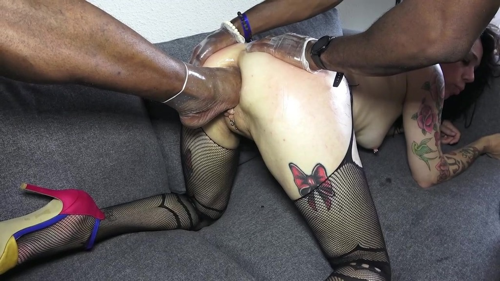LegalPorno - Adeline Lafouine Studio - Adeline gets fucked extremely rough, 2on1, 0% pussy, fisting, foot in ass, piss drinking, spanking, slapping, submission AL030
