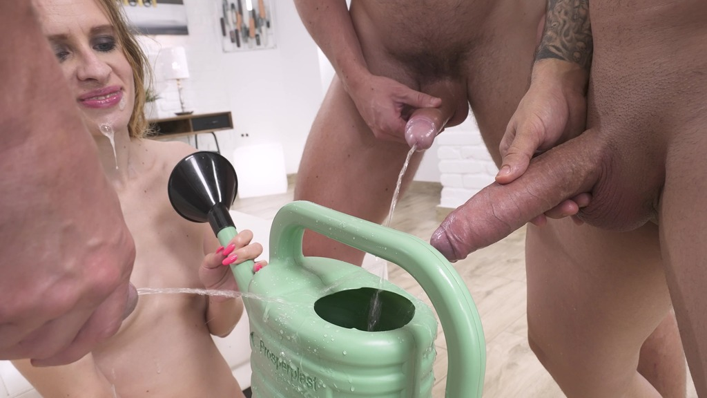 LegalPorno - Pissing and Anal Fantasy Studio - 0%pussy Nikki Riddle DAP, piss drinking, spit drinking, real balls deep anal, face fucking, real female orgasm rimming