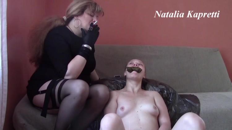 Mistress Natalia Kapretti - Small, twirly bitch likes be depraved slut