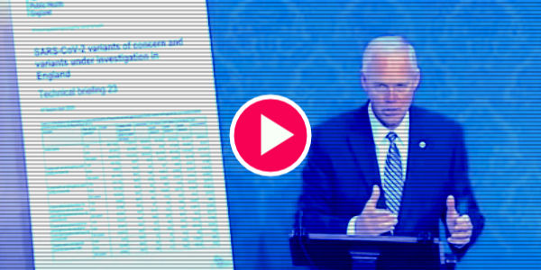 WATCH: Senator Ron Johnson presented on the floor of the Senate data out of England and Israel showing the numbers of vaccinated that are dying compared to the unvaccinated…