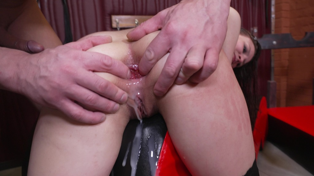 LegalPorno - NRX-Studio - Daddy punishes little Baby Bamby! Physical destruction, dirty toilet, brush in pussy NRX115