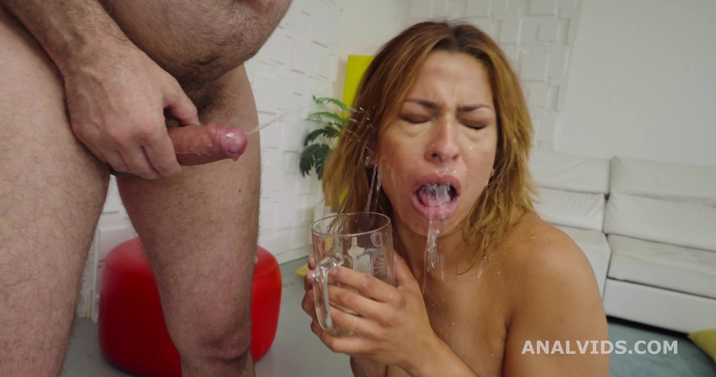 LegalPorno - Giorgio's Lab - Robin's Anal Casting goes Wet, Africa Danger, 1on1, Balls Deep Anal, Rough Sex, Gapes, Pee Drink, Swallow GL495