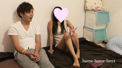 [hame-hame-boyz] FC2-PPV-1011104 スウェットもっこりの大学帰りのイケメン学生(19歳)彼女いるのにお姉さんと生ハメしちゃいました!