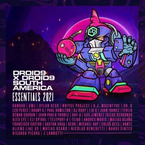 Droid9 X Droid9 South America (Essentials 2021) (2021) FLAC