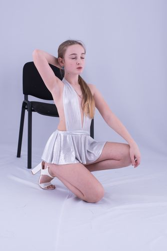 Brima Ellys Sweet White Dress 1692 set