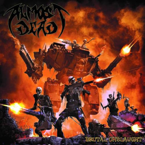Almost Dead - Brutal Onslaught (2021) FLAC