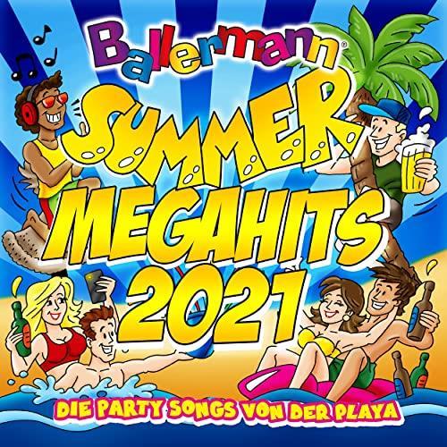 Ballermann Summer Megahits 2021 - Die Party Songs Von Der Playa (2021)