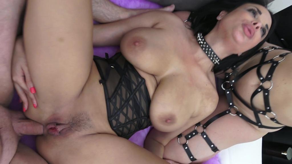 LegalPorno - Rick Angel Studio - Anal 3some Anissa Kate & Paola Guerra - Sextape BGGA / fetish / domination / sexual slaves RA043