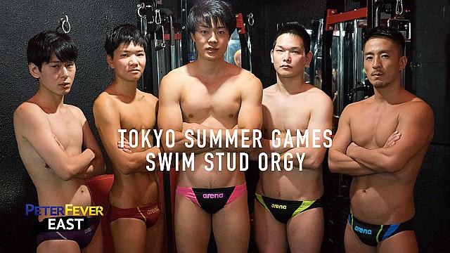 [PeterFever] Tokyo Summer Games: Swim Stud Orgy