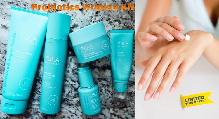 Probiotics Wrinkle Kit by Tula Skincare