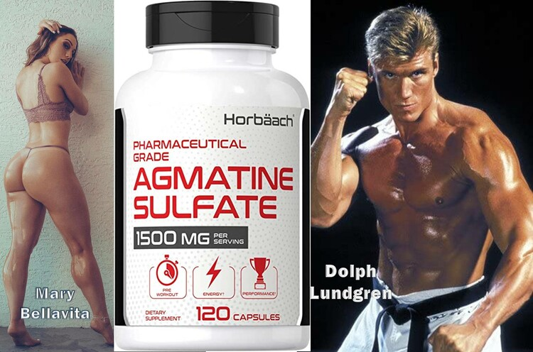 Agmatine Sulfate 1500mg by Horbaach
