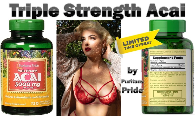 Triple Strength Acai by Puritans Pride