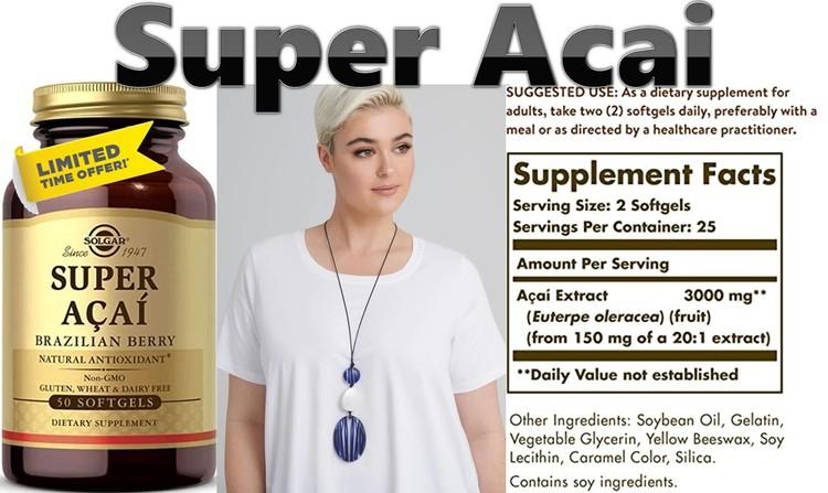 Super Acai by Solgar