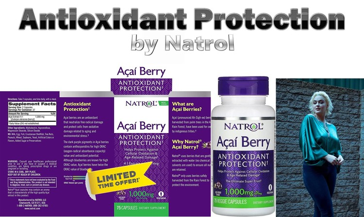 Antioxidant Protection by Natrol