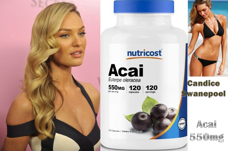 Acai 550mg by Nutricost