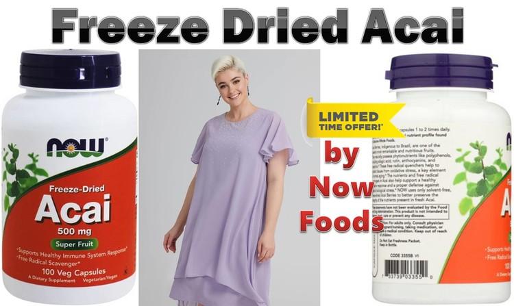 Freeze Dried Acai by Now Foods