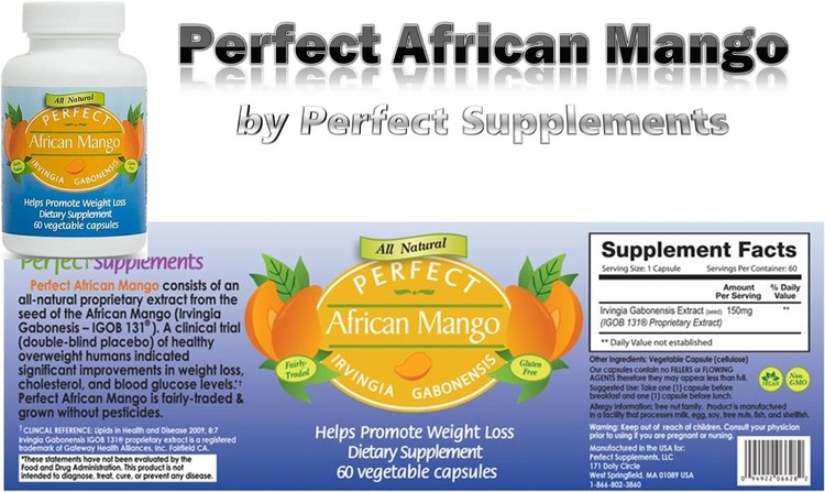 Perfect African Mango by Perfect Supplements