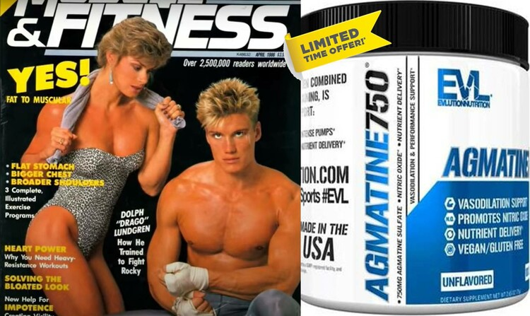 Agmatine750 Evlution by Evlution Nutrition